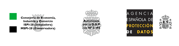 Seguridad Barrios logos